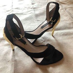 7591e99b0138 Women s Black Zara Ankle Strap Heels on Poshmark
